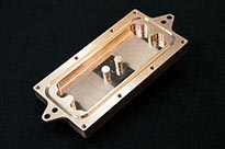 CNC Machined Copper Enclosure