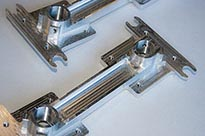 Machined Aluminium Brackets