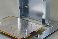 Fabricated Metal Enclosure with Self-clinch Fixings